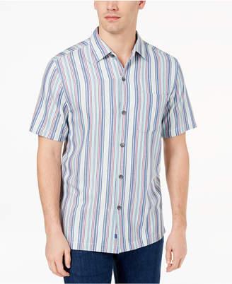 Tommy Bahama Men's Tropical Stripe Silk Shirt, Created for Macy's