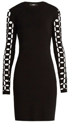VERSUS VERSACE Cut-out sleeves dress $486 thestylecure.com