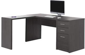 Monarch Three-Draw Computer Desk