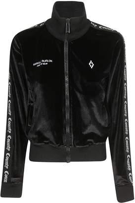 Marcelo Burlon County of Milan Cropped Zipped Jacket