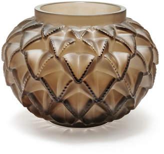 Lalique Languedoc Bronze Vase