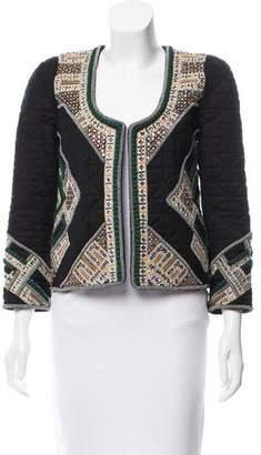 Isabel Marant Embellished Quilted Jacket