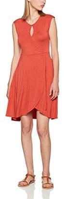 Khujo Women's Aglaia Basic Strech Jerey Kleid Dress