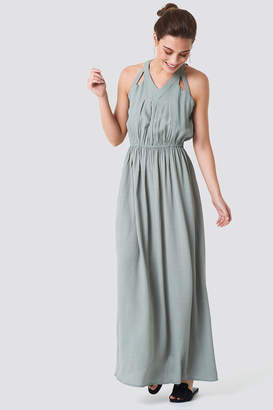 Rut & Circle Rut&Circle Hip Long Dress Green Stone