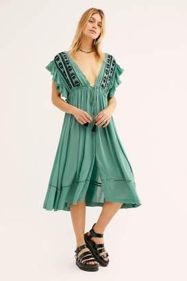 Bali Will Wait For You Midi Dress