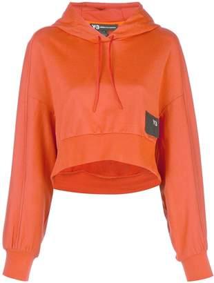 Y-3 x adidas stacked badge hoodie