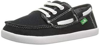 Sanuk Boys' Lil Deck Hand Boat Shoe (Toddler/Little Kid/Big Kid)