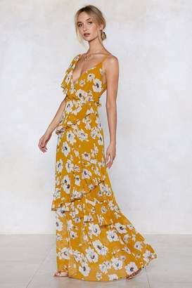 Nasty Gal Stem to Stem Floral Dress