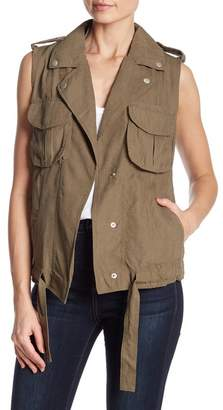 Coffee Shop Military Vest