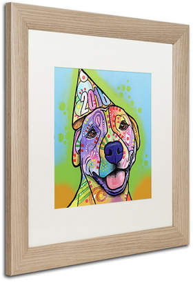 "Roxy Trademark Global Dean Russo 'Calendar Roxy' Matted Framed Art, 16"" x 16"""