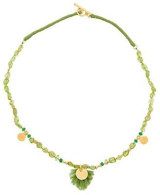 Katerina Makriyianni Peridot necklace