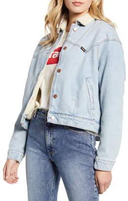 Wrangler '80s Fleece Lined Denim Jacket