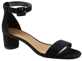 Banana Republic Bare Low Block-Heel Sandal