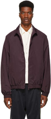 Name Reversible Burgundy Track Jacket