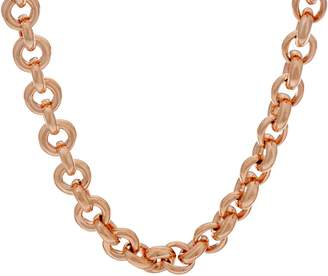 Robert Lee Morris Rlm Jewelry By RLM Bronze Rolo Necklace