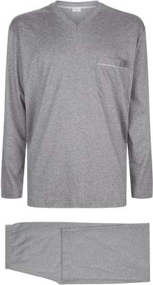 Zimmerli Long Sleeve Cotton Pyjama Set