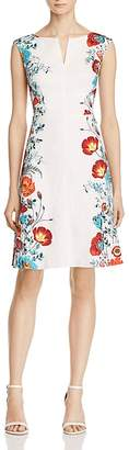 Adrianna Papell Floral-Pattern Dress $150 thestylecure.com
