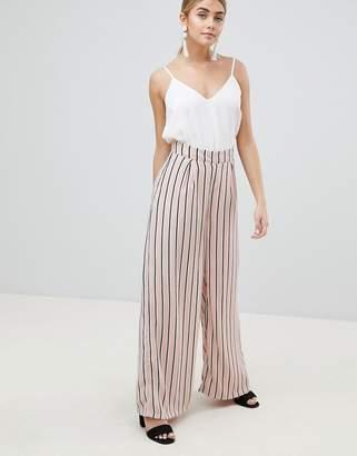 PrettyLittleThing Striped Wide Leg Pants