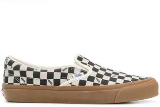 Vans checked slip-on sneakers