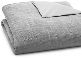 Oake Waffle Plaid Comforter Cover, Full/Queen - 100% Exclusive