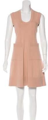 Balenciaga Knit Mini Dress