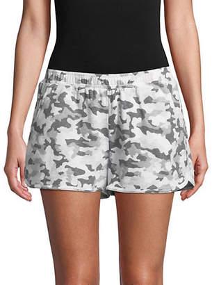 ASKYA Sporty Logo Shorts
