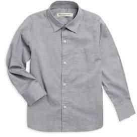 Appaman Boy's Pindot Casual Cotton Button-Down Shirt