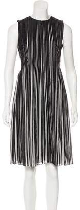 Akris Silk Striped Dress