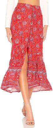 MinkPink Lucia Maxi Skirt