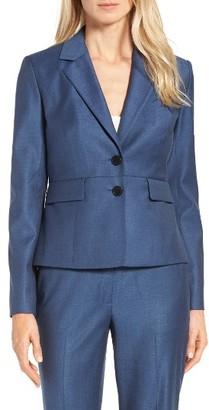 Women's Classiques Entier Wool Blend Suit Jacket $299 thestylecure.com