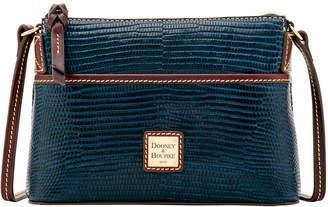 Dooney & Bourke Embossed Lizard Ginger Crossbody
