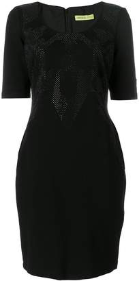 Versace micro embellished dress