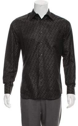 Prada Silk French Cuff Shirt