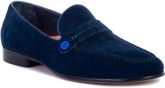 Robert Graham Norris Leather Loafer