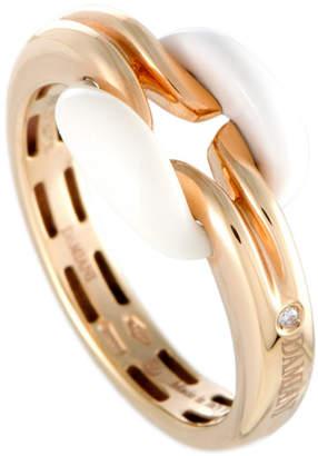 Damiani 18K Rose Gold Agate Ring