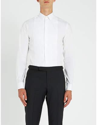Tiger of Sweden Farran bib-front cotton shirt