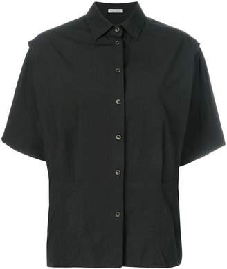Tomas Maier airy poplin kimono shirt