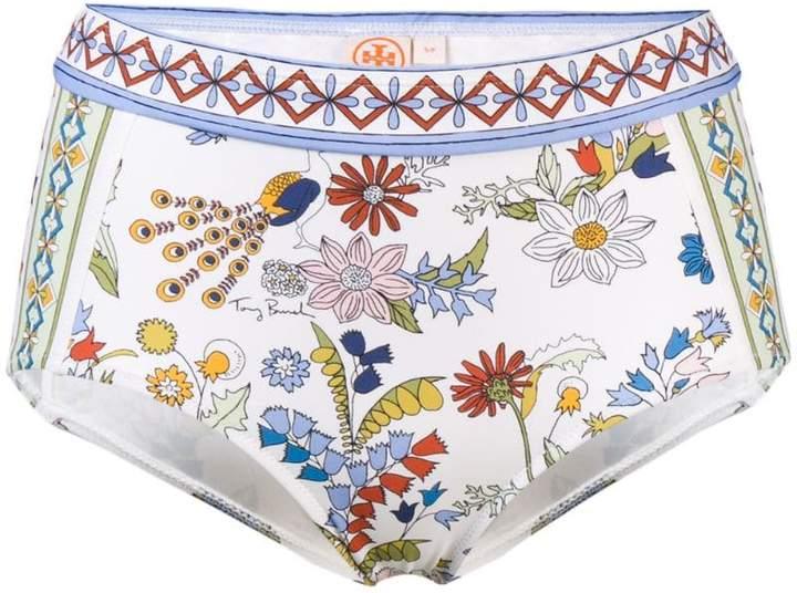 floral printed bikini bottom