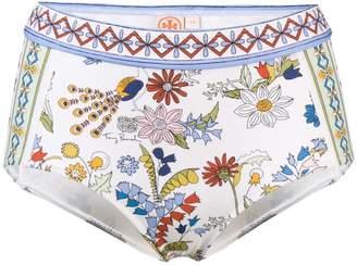 Tory Burch floral printed bikini bottom