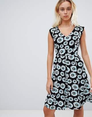 Louche Floral Print Skater Dress
