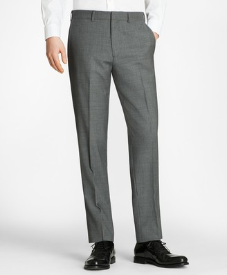 Brooks Brothers Milano Fit Check Trousers