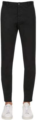 DSQUARED2 16cm Tidy Stretch Cotton Twill Pants