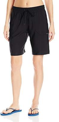 Jag Women's Solid Long Boardshort