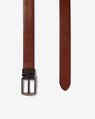 Express Pebbled Strap Reversible Prong Belt