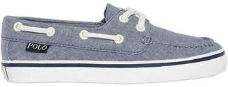 Ralph Lauren Cotton Chambray Loafers