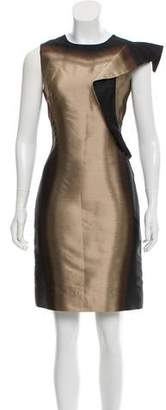 Prada Jacquard Sleeveless Dress