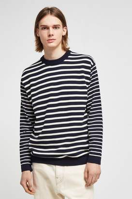French Connenction Super Fine Breton Stripe Top