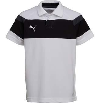 Puma Junior Boys Spirit II Leisure Polo White/Black