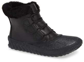 Sorel Out N About Plus Lux Waterproof Boot with Genuine Shearling Trim