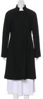 See by Chloe Knee-Length Mock Neck Coat